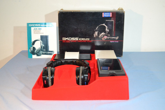 Fone De Ouvido Jck/300 Kordless Stereophone
