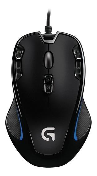 Mouse Gamer Logitech G300s. 2500 Dpi / 9 Botões!