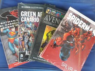 Libros De Colección De Superheroes De Dc Y Marvel Salvat