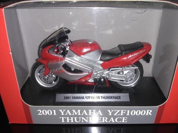 Moto Yamaha 2001 Yzf1000r Thunderace 1/18 Motos De Leyenda