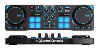 Consola Hercules Dj Compact Mixer Controlador + Envio Gratis