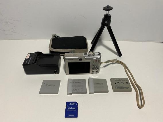 Máquina Fotografica Canon Power Shot Sd600 6.0 Mp Usada