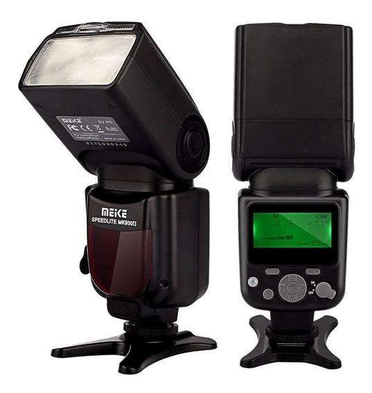 Flash Para Canon Meike Mk-930 Ii Para Nikon Speedlite +nf