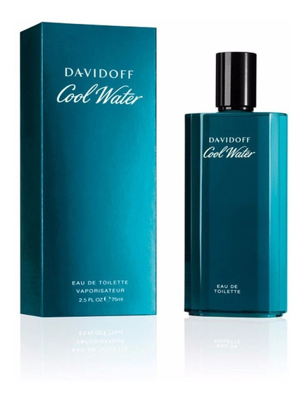 Perfume Cool Water For Men 75 Ml - Davidoff - Selo Adipec