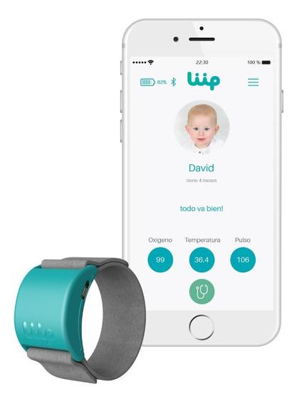 Liip Smart Monitor Pulsera Inteligente Para Bebes Y Niños