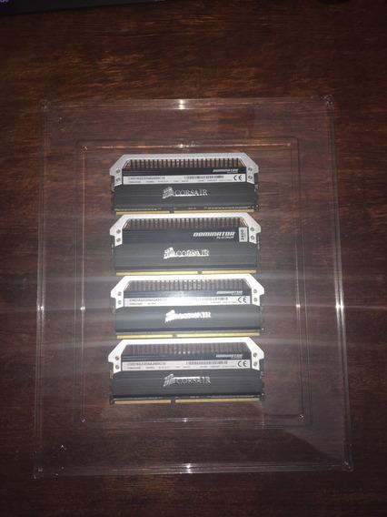 Memória Ddr3 16gb (2x8gb) 2400mhz Corsair Dominator Platinum