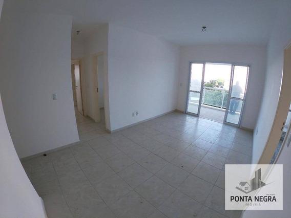 Apartamento Com 3 Suítes À Venda, 133 M² Por R$ 725.000 - Ponta Negra - Manaus/am - Ap0863