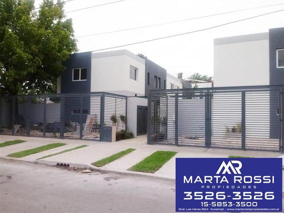 Excelente Complejo De Duplex A Estrenar Ituzaingo Norte