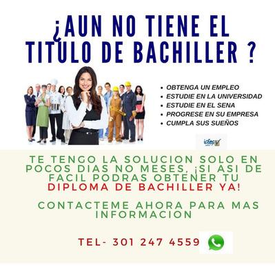 Bachiller Rapido Y Mas