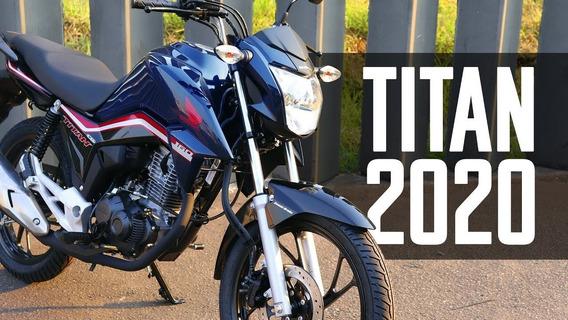 Hona Cg 160 Titan Ex Flexone Azul 2020