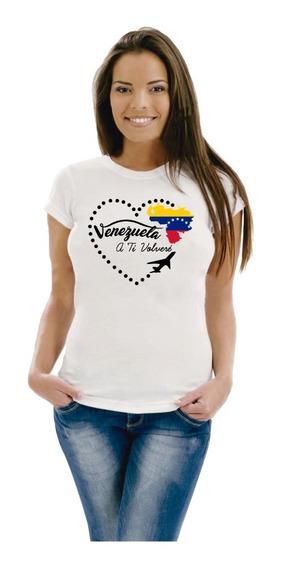 Remera Venezuela - Patriótica Varios Modelos
