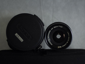 Lente 28mm Konica Minolta Hexanon Ar Autoreflex Impecavel