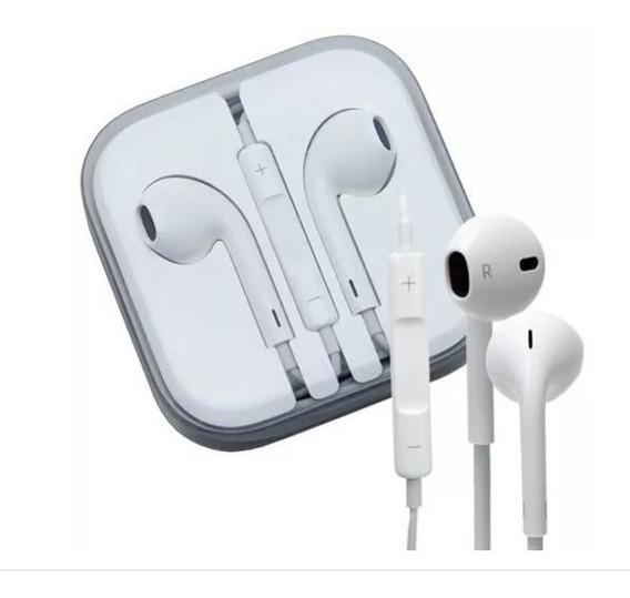 Fone De Ouvido Com Microfone Modelo Apple.