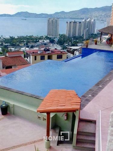 Imagen 1 de 8 de Hermoso Departamento En Acapulco, 26405