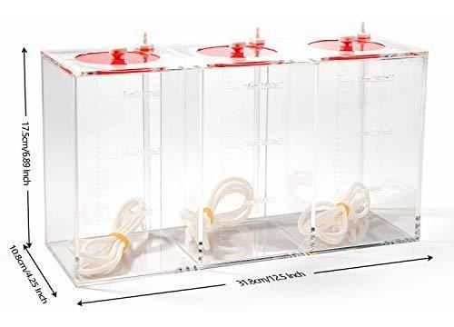 Imagen 1 de 2 de Aquarium Choice - Cubo De Almacenamiento Líquido Hecho De Ac