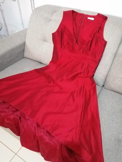 Vestido Mara Mac Festa Vermelho