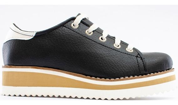 Zapatos Nautico Eco Cuero Dama Oc625