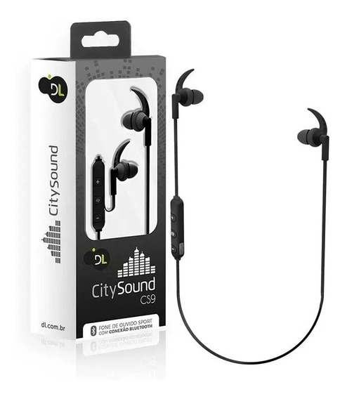 Fone De Ouvido Bluetooth Sport Citysound Dl Cs9 Alta Definiç