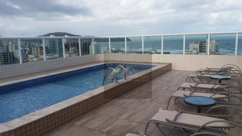 Cobertura Com 3 Dormitórios À Venda, 189 M² Por R$ 1.280.000,00 - Vila Guilhermina - Praia Grande/sp - Co0036