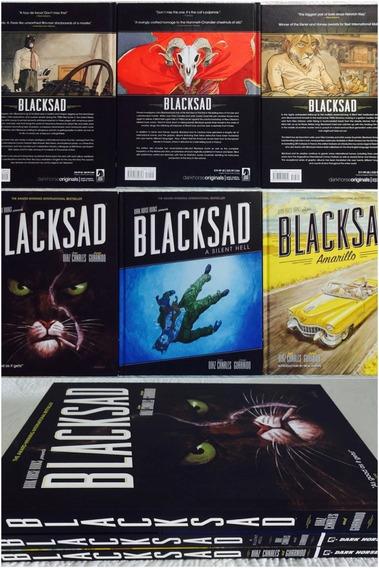Coleção Completa Blacksad Capa Dura Importada Em Inglês