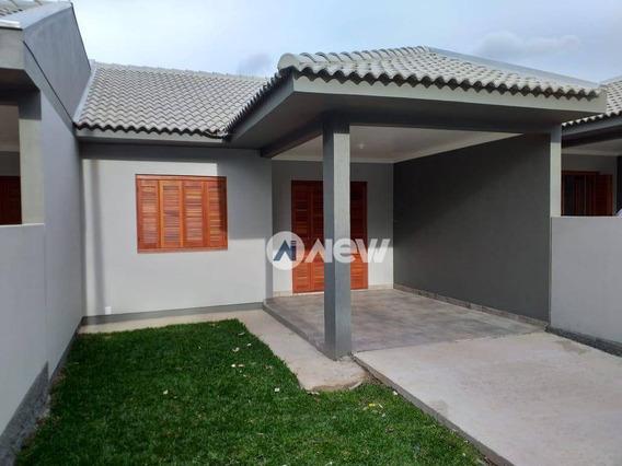 Casa Com 2 Dormitórios À Venda, 63 M² Por R$ 180.850,00 - Campo Grande - Estância Velha/rs - Ca3170