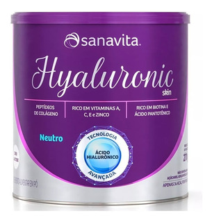 Hyaluronic Skin Colágeno E Ácido Hialurônico 270g - Sanav