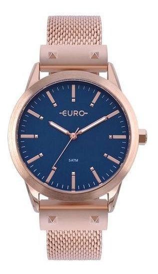 Relógio Euro Rose Feminino Analógico Eu2035yom/4a
