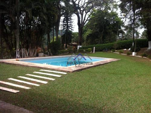 Chácara Com 2 Dormitórios À Venda, 6800 M² Por R$ 950.000,00 - Santa Clara - Jundiaí/sp - Ch0075