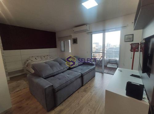 Imagem 1 de 30 de Loft Com 1 Dormitório Para Alugar, 42 M² Por R$ 2.100,00/mês - Jardim Do Mar - São Bernardo Do Campo/sp - Lf0060