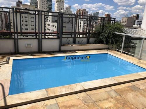 Cobertura Com 4 Dormitórios À Venda, 247 M² Por R$ 2.250.000,00 - Moema - São Paulo/sp - Co0167