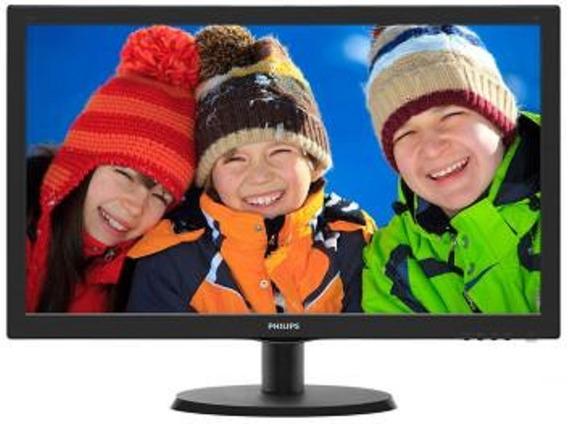 Monitor Philips Led 21 Polegadas Full Hd Bivolt
