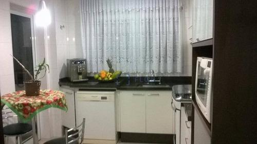 Apartamento 141m², 3 Dormitorios, 3 Suíte, 4 Vagas - Vila Monumento - Ap4030