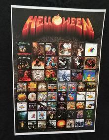 Poster Da Banda Helloween Unarmed Helloween Chameleon Metal