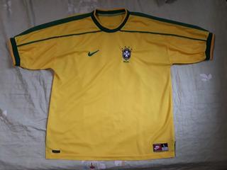 Camisa Seleção Brasileira Copa 1998 Original Oficial Nike
