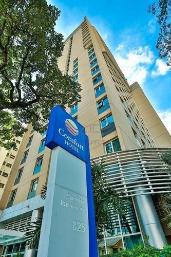 Flat Com 1 Dormitório À Venda, 26 M² Por R$ 255.000,00 - Indianópolis - São Paulo/sp - Fl0023