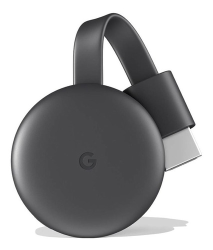 Google Chromecast (charcoal, 3rd Generation) Ga00439-cl