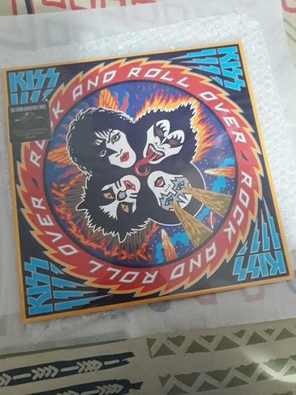 Kiss Lp Rock N Roll Over 180g Disco De Vinil
