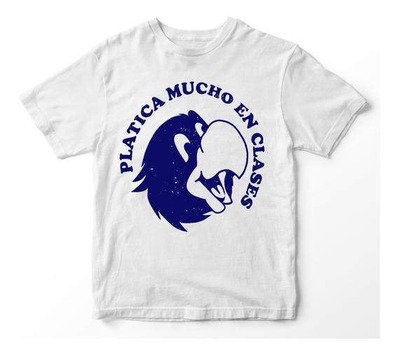 Nostalgia Shirts- Platica Mucho En Clase.