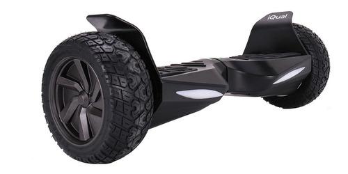 Imagen 1 de 6 de Patineta Electrica Hoverboard Iqual Hbr12 Todo Terreno Leds