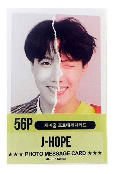 Set De Photocards: Bts J-hope Solo (56 Unidades)