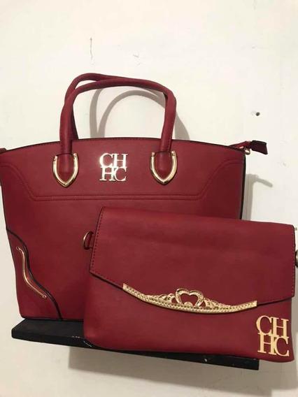 Bolsa Roja Elegante Set