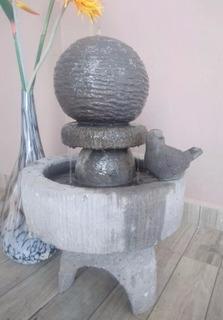 Fuente Moderna/ Modelo Esfera/ Cantera Y Granito De Mármol
