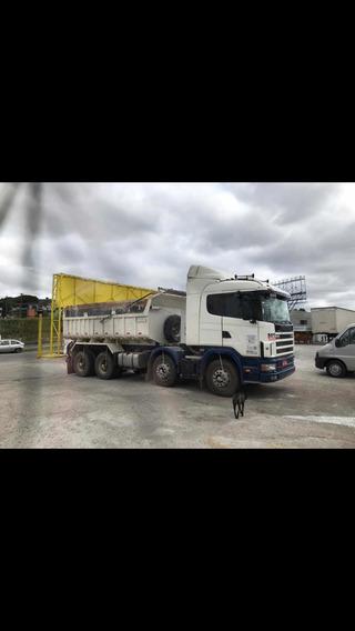 Scania 124 360 8x4 Traçado Basculante
