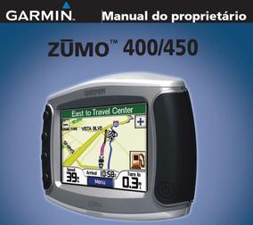 Manual Garmin Zumo 400 450 Gps Para Motocicletas Em Cd