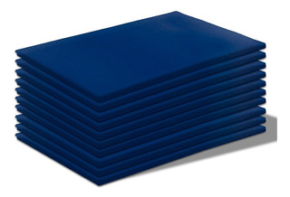 Kit 10 Colchonetes 85x45x3cm Espuma Academia Corvin Azul