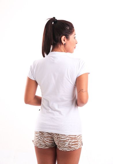 Roupa Feminina Blusa Pólo Básica Kit Com 03 Peças