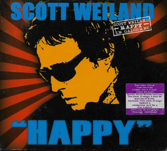 Cd Duplo Happy In Galoshes Deluxe Edition Scott Weiland