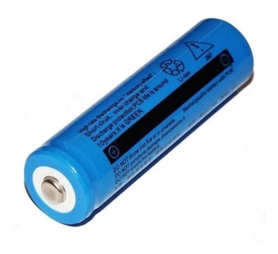 2 Bateria Recarregável 18650 3.7 6.800mah Para Laser Pointer