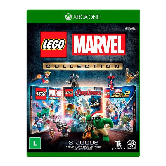 Jogo Lego Marvel Collection Br Xone