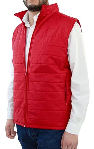 Imagen 1 de 4 de Chaleco Rosso Corsa Térmico Invierno Capitonado Horizontal